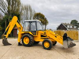 JCB 3CX SITEMASTER 4WD TURBO BACK HOE DIGGER C/W 5 STUD HEAVY DUTY BACK END
