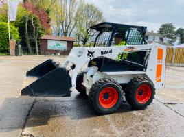 BOBCAT 743 KIDSTEER * ONLY 2759 HOURS * C/W BUCKET
