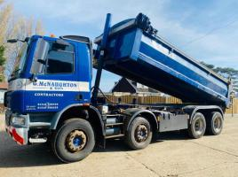 DAF 75.360 8X4 DOUBLE DRIVE TIPPER LORRY * YEAR 2010 *