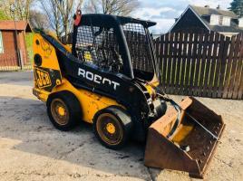 JCB ROBOT SKIDSTEER ** SELLING AS SPARES AND REPAIRS **