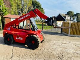 MANITOU BT420 4WD BUGGISCOPIC TELEHANDLER * ONLY 3117 HOURS * SEE VIDEO *