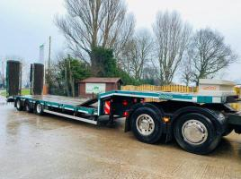 NOOTEBOOM D4000/880 HR LOW LOADER TRAILER YEAR 2014 C/W OUT RIGGERS