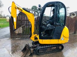 JCB 8014 MINI DIGGER * YEAR 2012 READING 1909 HOURS *