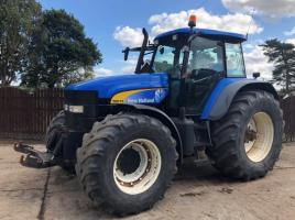 NEW HOLLAND TM175 4WD TRACTOR C/W FRONT LINKAGE
