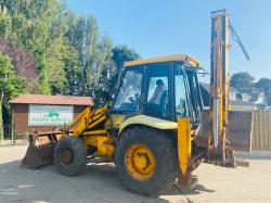 JCB 3CX PROJECT 8 4WD BACKHOE DIGGER C/W EXTENDING DIG