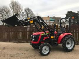 ** BRAND NEW SIROMER 254 4WD TRACTOR WITH LOADER YEAR 2021 **
