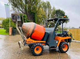 MZ IMER 1000HT 4WD SELF LOADING CEMENT MIXER * YEAR 2010 *