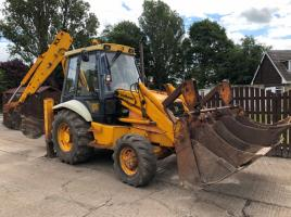 JCB 3CX SITE MASTER PROJECT 8 CW QUICK HITCH