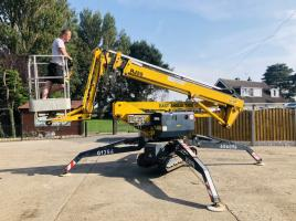 ITALMEC RJ-20 TRACKED SCISSOR LIFT C/W TWIN AXLE TRAILER
