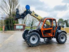 JLG 3707PS TURBO 4WD TELEHANDLER *YEAR 2016 , ONLY 4230 HOURS* C/W PALLET TINES