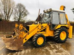 JCB 3CX PROJECT 7 4WD BACKHOE DIGGER C/W PROJECT 8 BACK END