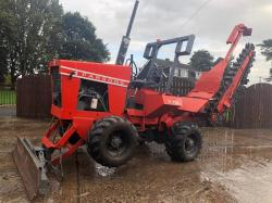 PARSONS T750 TRENCHER C/W THREE WAY BLADE