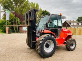 MANITOU M30-4 4WD ROUGH TERRAIN FORKLIFT * YEAR 2008 * CONTAINER SPEC *