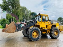 VOLVO BM4400 LOADING SHOVEL C/W BUCKET * NO BREAKS *