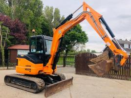 HANIX H55DR TRACKED EXCAVATOR * YER 2016 * ONLY 861 HOURS * PLEASE SEE VIDEO