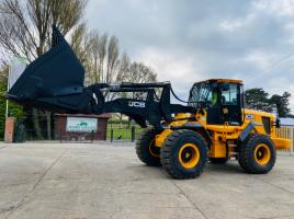 JCB 436 4WD LONG REACH LOADING SHOVEL *YEAR 2011* C/W TOE TIP BUCKET