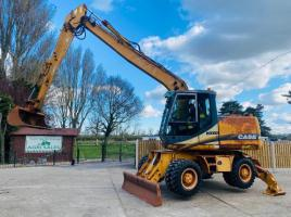 CASE WX150 WHEELED EXCAVATOR *ONLY 4207 HOURS* C/W LONG REACH BOOM