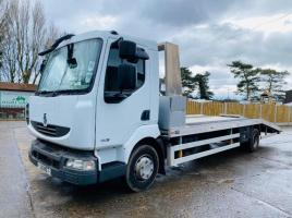 RENAULT 180DXI 4X2 BEAVERTAIL LORRY * YEAR 2010 * C/W ALUMINIUM RAMPS