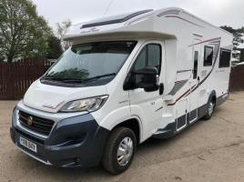FIAT DUCANTO AUTO ROLLER 747 CAMPER ( YEAR 2018 ) ** ONLY 1164 MILES **