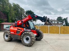 MANITOU MLT634-120LSU *AG-SPEC* TELEHANDLER YEAR 2013 C/W PUH * SEE VIDEO *