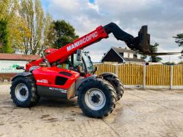 MANITOU MLT741-120LSU TURBO TELEHANDLER 7 METER * AG SPEC * C/W PICK UP HITCH