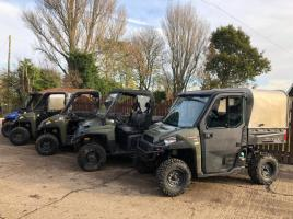 POLARIS RANDGER UTILITY VEHICLE * CHOICE OF 5 FROM 2014 - 2016 *