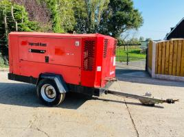 INGERSOLL-RAND 15.115 15.5BAR TOWABLE COMPRESSOR * YEAR 2007 *