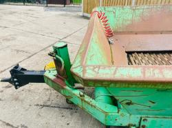 J WILLIBALD GMBH MZA 1500S TOWABLE SHREDDER * PLEASE SEE VIDEO *