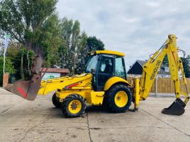 NEW HOLLAND LB110 BACK HOE DIGGER C/W EXTENDING DIG