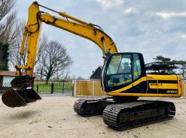 JCB JS130 TRACKED EXCAVATOR C/W QUICK HITCH & BUCKET