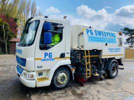 DAF LF45-160 4X2 JOHNSTON ROAD SWEEPER * YEAR 2009 *