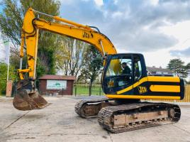 JCB JS160LC TRACKED EXCAVATOR C/W QUICK HITCH & BUCKET
