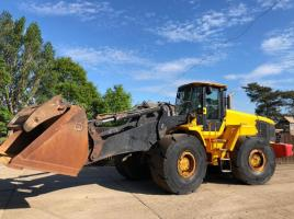 JCB 456Z LOADING SHOVEL CW HIGH LIFT BOOM * ONLY 5526 HOURS * ( SEE VIDEO )