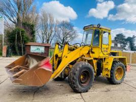 BRAY 4WD LOADING SHOVEL C/W BUCKET
