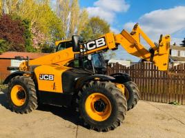 JCB 531-70 TELEHANDLER * YEAR 2012 ONLY 2261 HOURS * C/W BRAND NEW TYRES