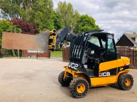 JCB TLT35D 4WD TELETRUCK WASTE MASTER YEAR 2012 * ONLY 5230 HOURS * SEE VIDEO *