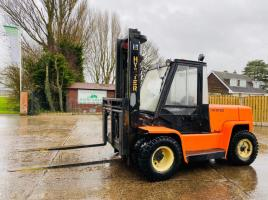 HYSTER H7.00XL DIESEL FORKLIFT C/W SIDE SHIFT & FULLY GLAZED CABIN