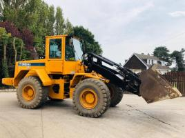 HYUNDIA HL740TM-3 4WD LOADING SHOVEL ** ONLY 4825 HOURS ** ONE OWNER FROM NEW **