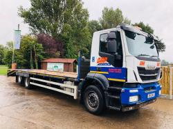 IVECO STRALIS 6X2 REAR LIFT BEAVERTAIL PLANT LORRY