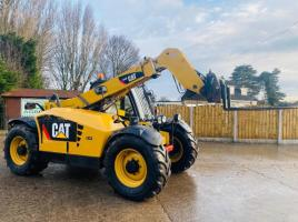 CATERPILLAR TH406 TELEHANDLER *AG-SPEC , YEAR 2010 ONLY 6502 HOURS* C/W PUH *SEE VIDEO*