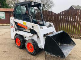 BOBCAT S70 SKIDSTEER * YEAR 2008 * C/W BRAND NEW TYRES AND WHEELS