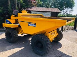 THWAITES 3 TON DUMPER C/W ELECTRIC START