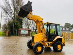 JCB 2CX AIR-MASTER DIGGER C/W FOUR IN ONE BUCKET