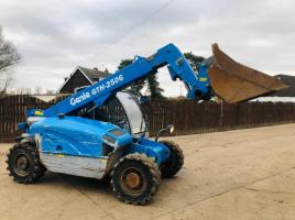 GENIE GTH2506 TELEHANDLER * YEAR 2010 * C/W SOLID TYRES ONLY 1454 HOURS