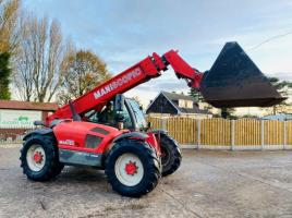 MANITOU MT932 TURBO TELEHANDLER * 9 METER REACH , AG-SPEC * C/W PICK UP HITCH