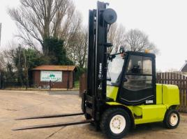 CLARK CDP50SH DIESEL FORK LIFT * 5 TON LIFT * ONLY 2851 HOURS *PLEASE SEE VIDEO *