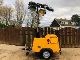 LIGHTING TOWER C/W KUBOTA ENGINE & 2 X POWER OUT LETS *YEAR 2007*