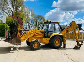 JCB 3CX HAMMER MASTER PROJECT 8 SITE MASTER C/W SELECTION OF BUCKETS & HAMMER