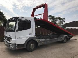 MERCEDES ATEGO 816 TILT AND SLIDE LORRY ( YEAR 2008