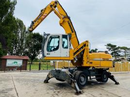 LIEHBERR 316 HIGH RISE CABIN WHEELED SCRAP HANDLER * YEAR 2009 * SEE VIDEO *